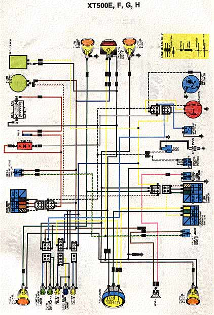 wiring diagram yamaha sr500  wiring  free engine image for 2002 Arctic Cat 500 Front and Rear Rack Bombardier Traxter 500